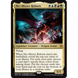 Magic löskort: War of the Spark: Niv-Mizzet Reborn