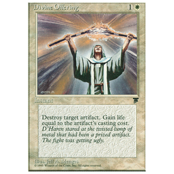 Magic löskort: Chronicles: Divine Offering