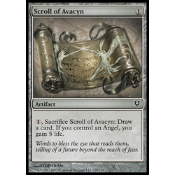 Magic löskort: Avacyn Restored: Scroll of Avacyn (Foil)