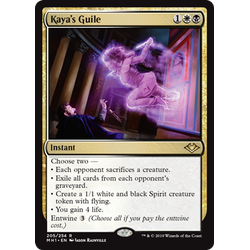 Magic löskort: Modern Horizons: Kaya's Guile
