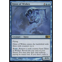 Magic löskort: M10: Djinn of Wishes