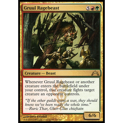Magic löskort: Gatecrash: Gruul Ragebeast