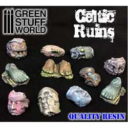 Resin Celtic Ruins Pieces