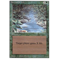 Magic löskort: Revised: Stream of Life