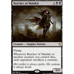 Magic löskort: Zendikar vs Eldrazi: Butcher of Malakir