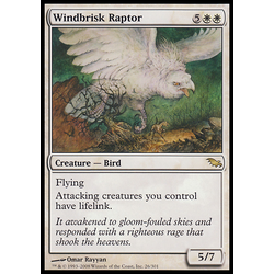 Magic löskort: Shadowmoor: Windbrisk Raptor