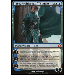 Magic löskort: Return to Ravnica: Jace, Architect of Thought