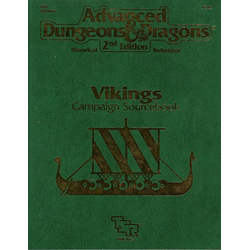 ADD 2nd ed: Vikings Campaign Sourcebook