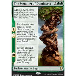 Magic löskort: Dominaria: The Mending of Dominaria