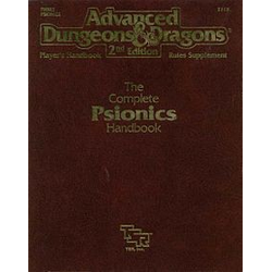 ADD 2nd ed: The Complete Psionics Handbook