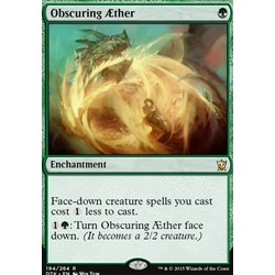 Magic löskort: Dragons of Tarkir: Obscuring Aether