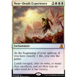 Magic löskort: From the Vault: Lore: Near-Death Experience	(Foil)