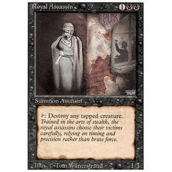 Magic löskort: Revised: Royal Assassin