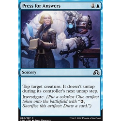 Magic löskort: Shadows over Innistrad: Press for Answers