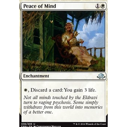Magic löskort: Eldritch Moon: Peace of Mind