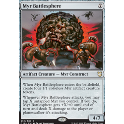 Magic löskort: Commander 2018: Myr Battlesphere
