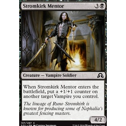 Magic löskort: Shadows over Innistrad: Stromkirk Mentor