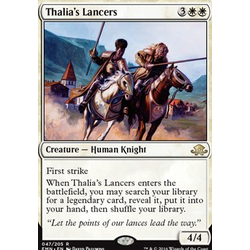 Magic löskort: Eldritch Moon: Thalia's Lancers (Prerelease Foil)