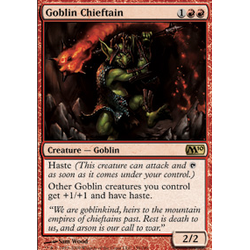 Magic löskort: M10: Goblin Chieftain