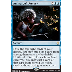 Magic löskort: Commander 2018: Aminatou's Augury