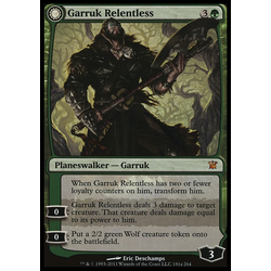 Magic löskort: Innistrad: Garruk Relentless
