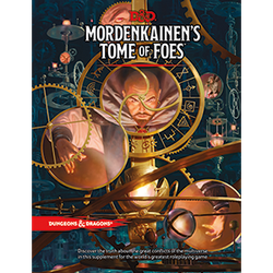 D&D 5.0: Mordenkainen's Tome of Foes (standard cover)