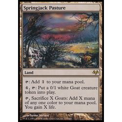 Magic löskort: Eventide Springjack Pasture