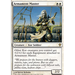 Magic löskort: Zendikar: Armament Master