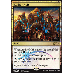 Magic löskort: Promo: Aether Hub (Foil)