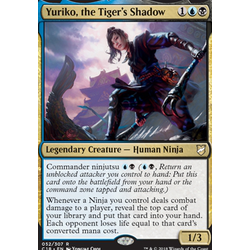 Magic löskort: Commander 2018: Yuriko, the Tiger's Shadow