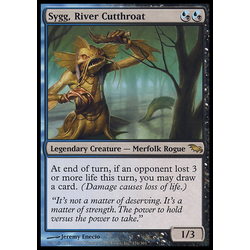 Magic löskort: Shadowmoor: Sygg, River Cutthroat