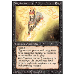 Magic löskort: Revised: Nightmare
