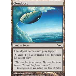 Magic löskort: Mirrodin: Cloudpost