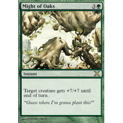 Magic löskort: 10th Edition: Might of Oaks