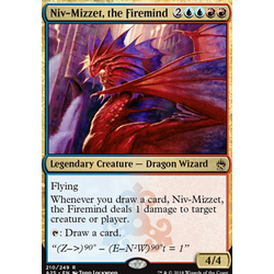 Magic löskort: Masters 25: Niv-Mizzet, the Firemind