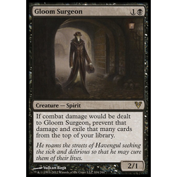 Magic löskort: Avacyn Restored: Gloom Surgeon