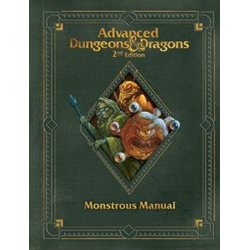 Dungeons & Dragons Monsterous Manual 2.0 Ed Premium