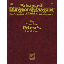 ADD 2nd ed: The Complete Priest's Handbook