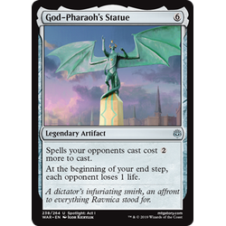Magic löskort: War of the Spark: God-Pharaoh's Statue