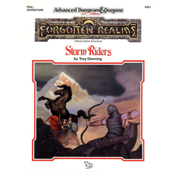 ADD 2nd ed: FRA1, Forgotten Realms - Storm Riders (1990)