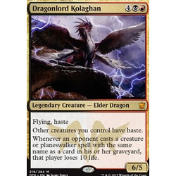 Magic löskort: Dragons of Tarkir: Dragonlord Kolaghan