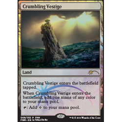 Magic löskort: FNM Promo: Crumbling Vestige (Foil)