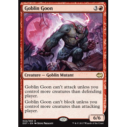 Magic löskort: Duel Decks: Merfolk vs. Goblins: Goblin Goon