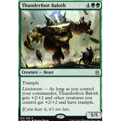 Magic löskort: Commander Anthology: Thunderfoot Baloth