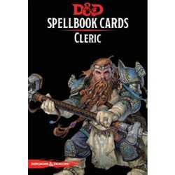 D&D 5.0: Spellbook Cards - Cleric (new)