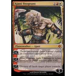 Magic löskort: Shards of Alara: Ajani Vengeant (Prereleasefoil)