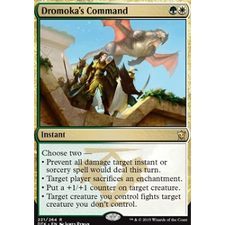 Magic löskort: Dragons of Tarkir: Dromoka's Command