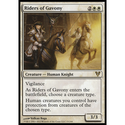 Magic löskort: Avacyn Restored: Riders of Gavony