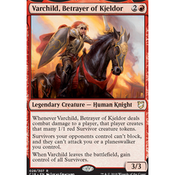 Magic löskort: Commander 2018: Varchild, Betrayer of Kjeldor