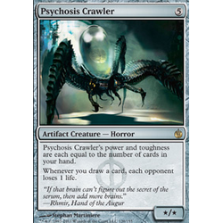 Magic löskort: Mirrodin Besieged: Psychosis Crawler
